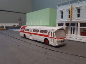 New Look Bus - HO Scale