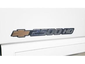 Bowtie for Side Badge GMT800 Trucks (2003-2007 Silverado, Tahoe, Suburban))