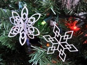 Geometric Snowflakes