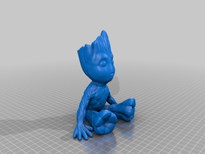 Low File Size Baby Groot