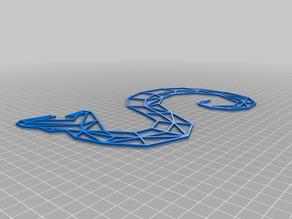 geometric snake