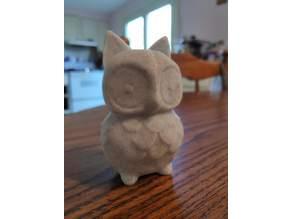 Owl Figurine with Ears