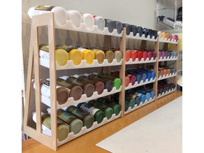 The Perfect Paint Rack