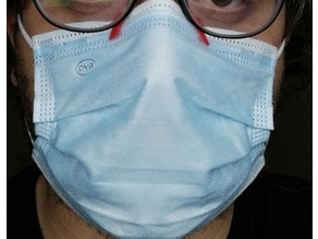 Anti Fog Clip For Surgical Mask