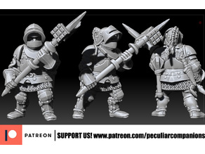 Dwarf Heavy infantry - With pollaxe