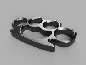 Knuckle Duster Keychain Trinket