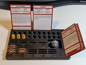 DnD 5e Sorcerer Spell Tracker