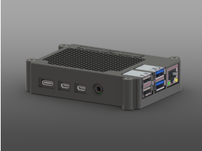 Raspberry Pi 4B Case