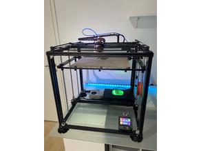 CoreXY Printer Config SKR 1.4 3D Touch TMC 2209 sensorless Homing Filament rounout Sensor