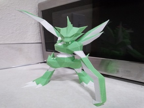 123 Scyther Dual Low-Poly