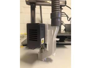 Vacuum Attachment Snapmaker 2.0 CNC