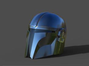 Mandalorian Helmet V2