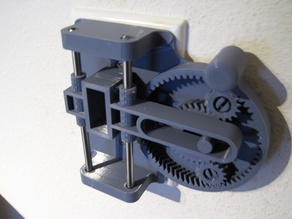 Planetary Gear Scotch Yoke Light Switch