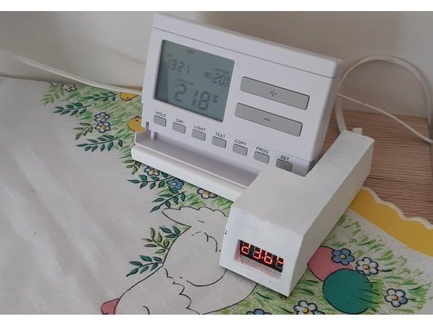 COMPUTHERM Q7 RF wireless digital PROGRAMMABLE room thermostat Stat NEW!!!
