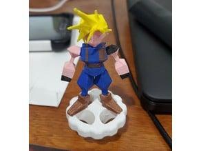 Final Fantasy 7 Cloud Extruder Knob