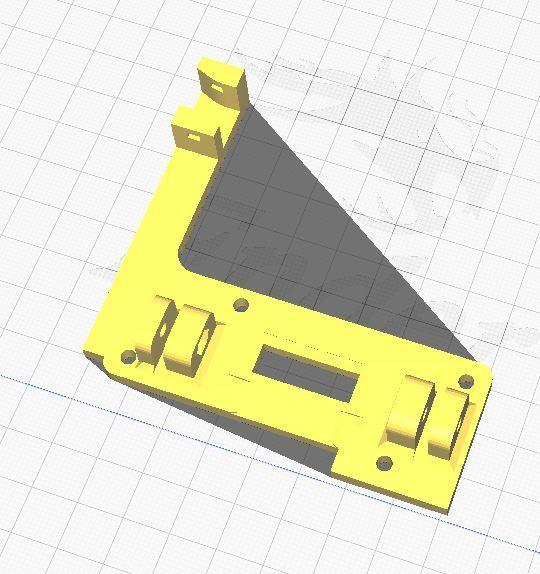 Micro Swiss Direct Drive Mounting Plate