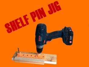 SHELF PIN JIG