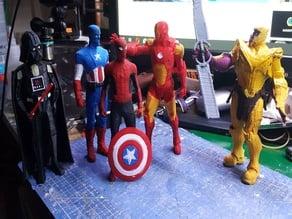 Marvel Endgame Avengers Ironman Thanos Captain America Spiderman