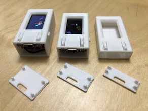 TTGO T-Display Cases, with battery options