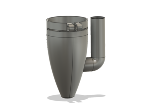 Air Assist Nozzle for K40 Laser Cutter