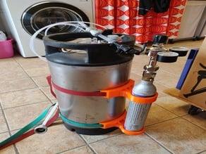 Adapter CO2 tube to Cornelius keg