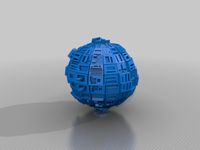 Star Trek Borg Sphere variant Ship