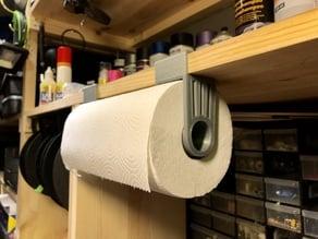 Paper Towel Holder (for 18mm shelf)