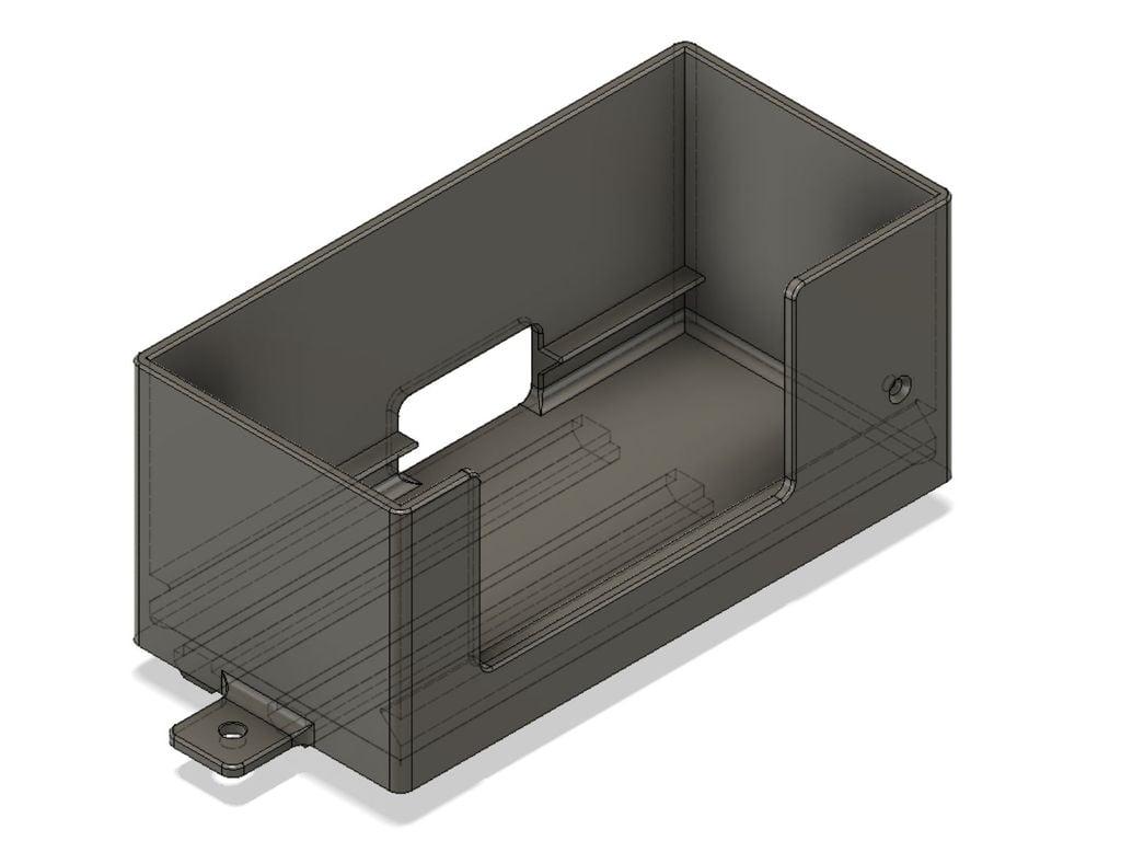 Ender3 power supply holder for dual Z