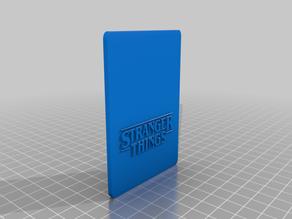 Stranger Things card holder