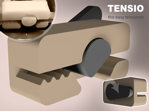 TENSIO - the easy tensioner, for GT2 belts.