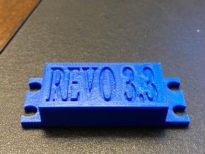Traxxas Revo 3.3 steering servo cover plate