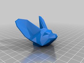 Fennec Fox Head Magnet Remix