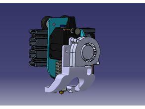Sidewinder X1 Fanduct for BMG/V6/Volcano/5015 Radial