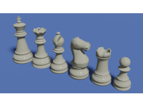 Simple Chess Set