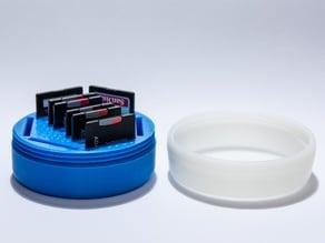 SD Card Capsule - Threaded