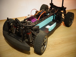 MST XXX Rally - Fix pack (Center driveshaft enclosure)