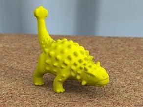 ankylosaurus tail-swinging