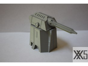Star Wars Legion scale Laser Turret