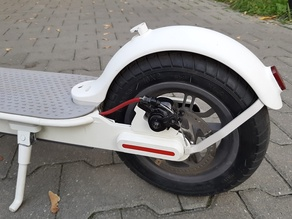 Xiaomi scooter m365 set for 10 inches tire