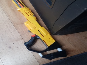 Nerf Longshot stock, fully 3D printed
