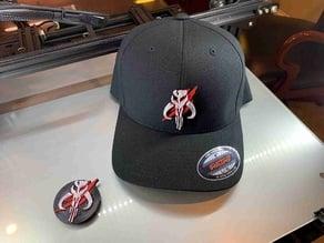 Mandalorian Logo for cap / hat