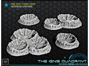 Asteroid Craters - The Ignis Quadrant