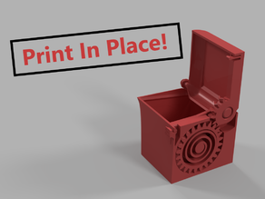 PRINT-IN-PLACE SPRING LOADED BOX