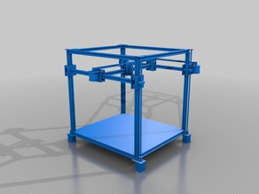 3D Printer with a Fixed Bed...