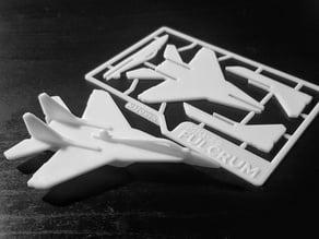 MiG-29 Fulcrum Kit Card