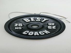 Best Coach Barbell Plate