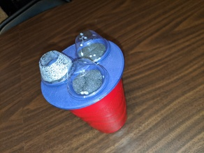 Aerogarden red cup cover for starting seeds
