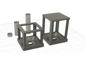 Improved Lithophane Cube