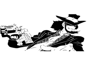 Daisuke Jigen stencil