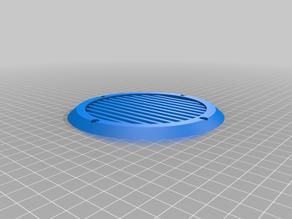 Simple customizable speaker grill